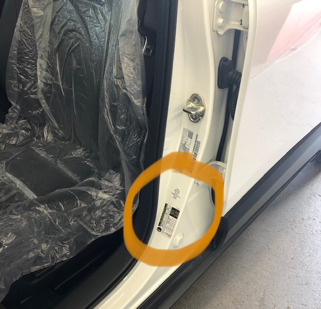You want to make sure they match the tire pressure that's marked on the placard that's easiest to find located on the drivers' door jam or owners manual.